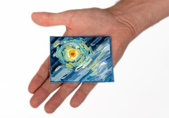 Van Gogh mini paintings