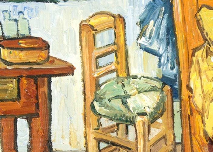 Bedroom Oil Paintings On Canvas Van Gogh Studio