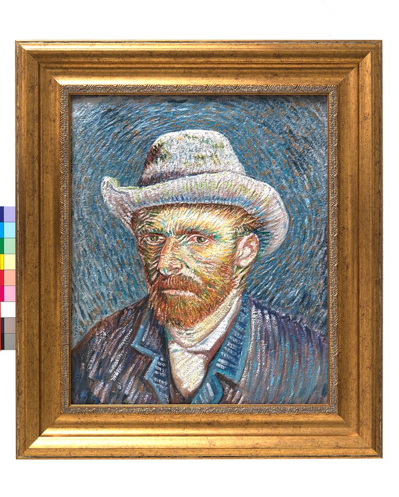 painted van Gogh 3D print