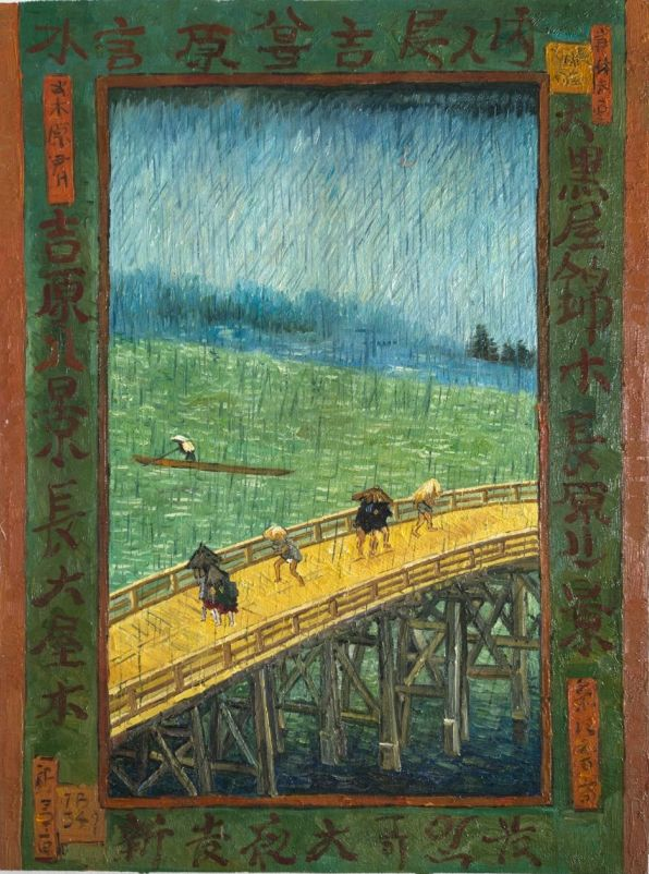 Was Van Gogh influenced by Japanese artists?