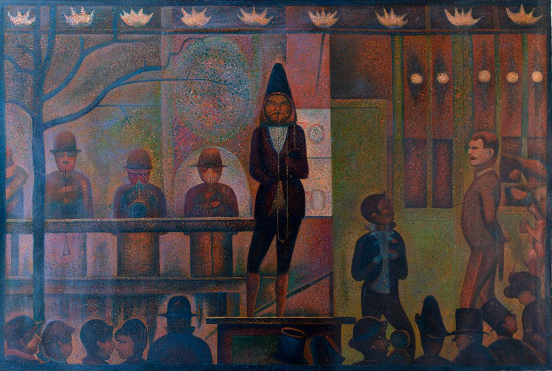Circus Sideshow Georges Seurat reproduction reproduction