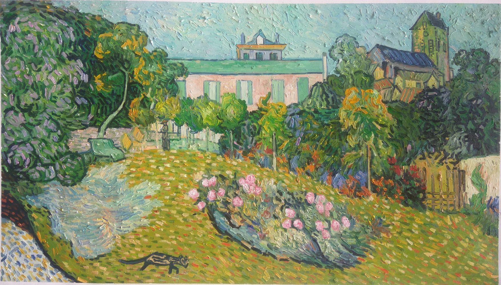 Daubignys Garden Van Gogh reproduction