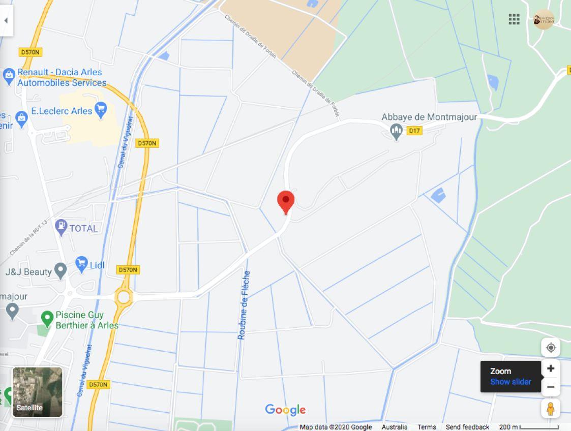 exact location the red vineyard Van Gogh
