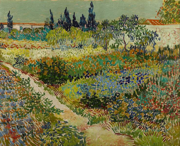 How dependent on the weather was Vincent van Gogh to paint?