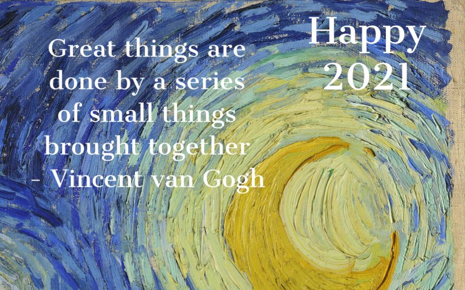 A Happy New Year for Vincent van Gogh