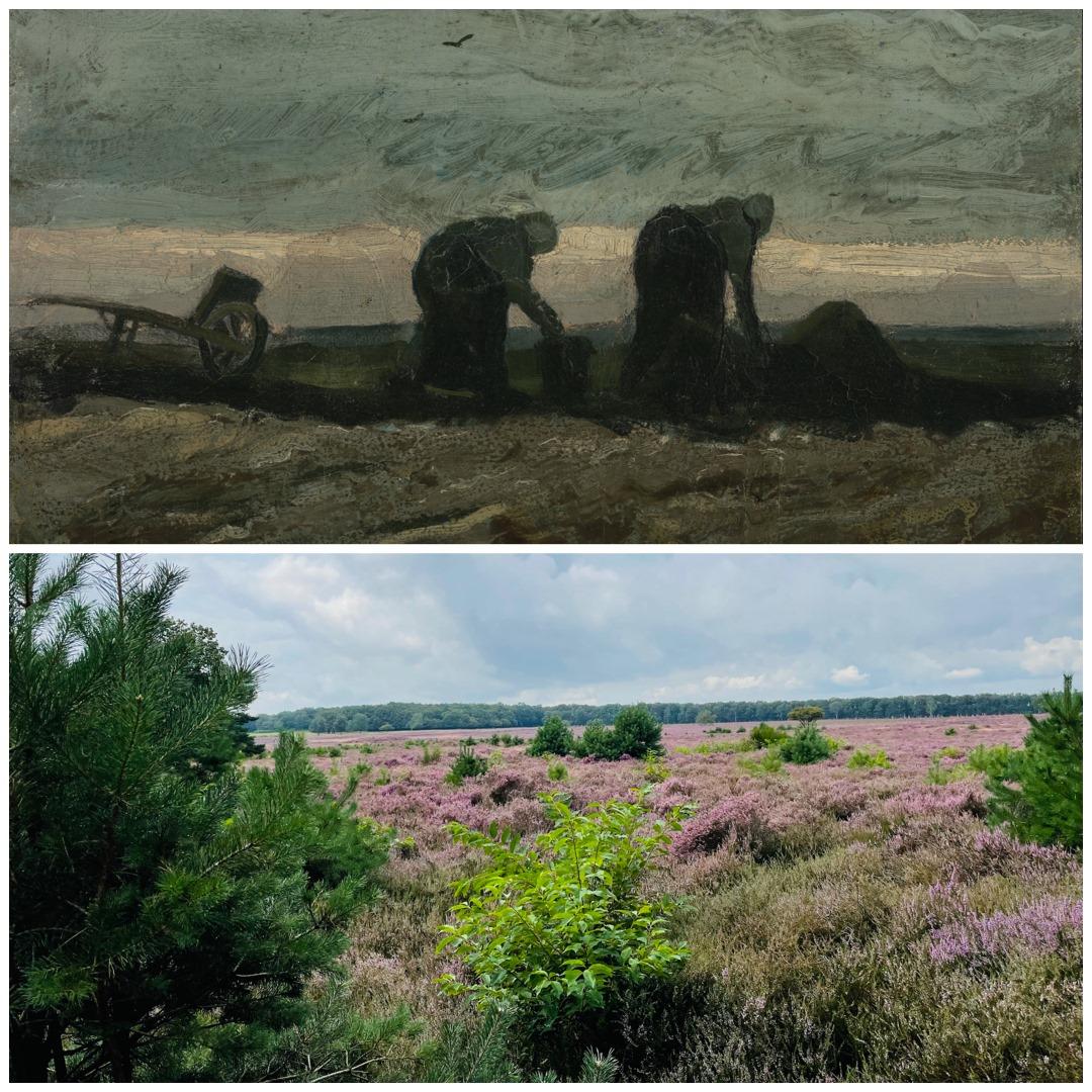 How did Vincent van Gogh travel?