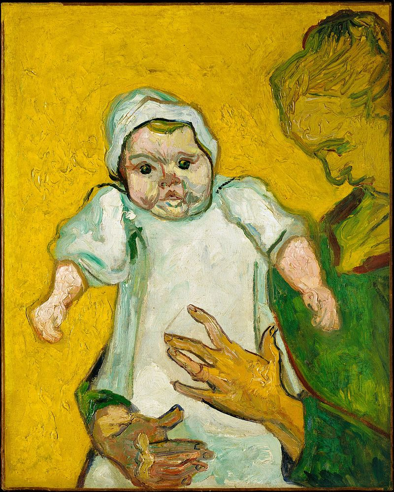 How do children look at a Van Gogh painting?