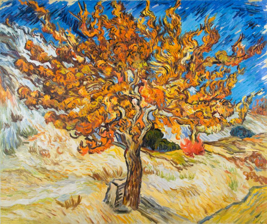 Van Gogh's The Mulberry Tree