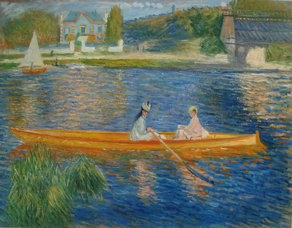 The Skiff Renoir reproduction