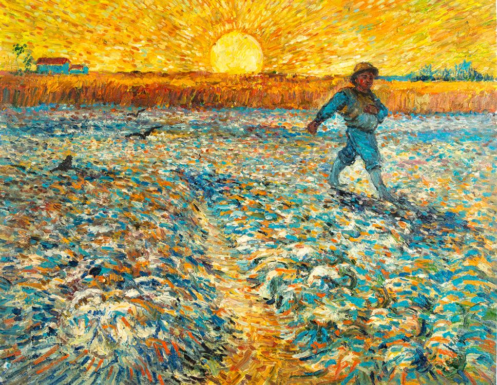 The Sower Van Gogh Reproduction