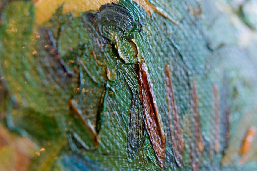 Van Gogh and impasto