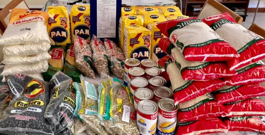 Your donation for food in Venezuela