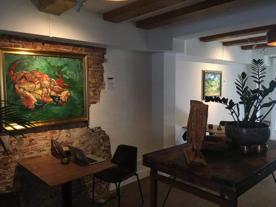 Van Gogh Studio showroom in Amsterdam
