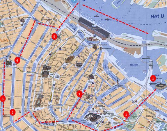 Van Gogh Boat Tour Amsterdam
