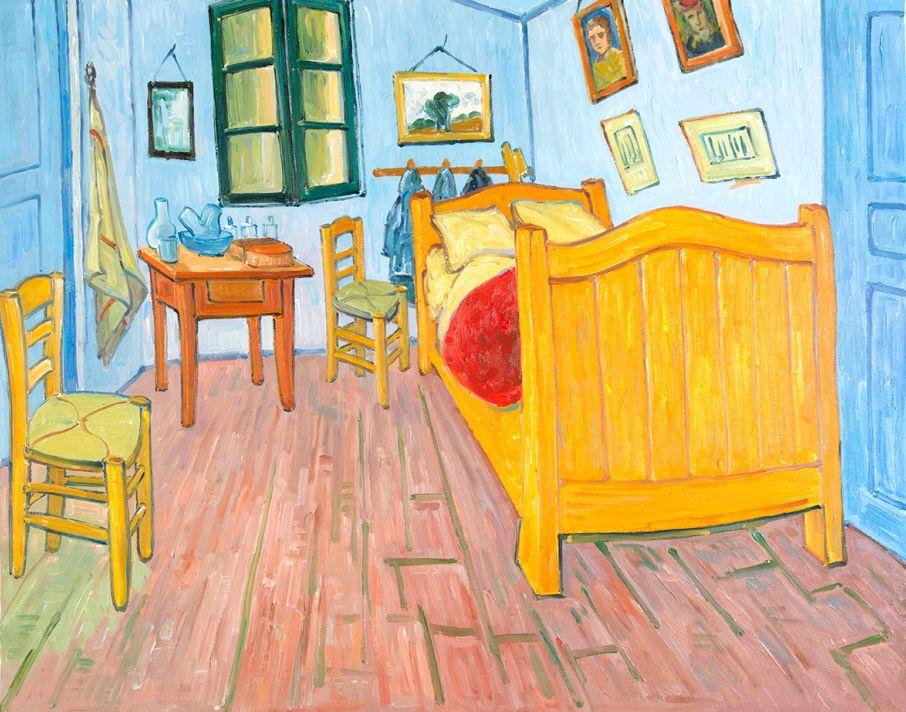 De Slaapkamer Van Gogh reproductie
