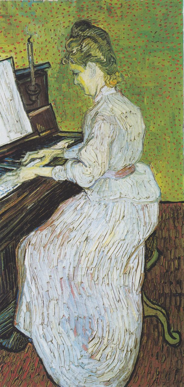Was Van Gogh inspired by music?