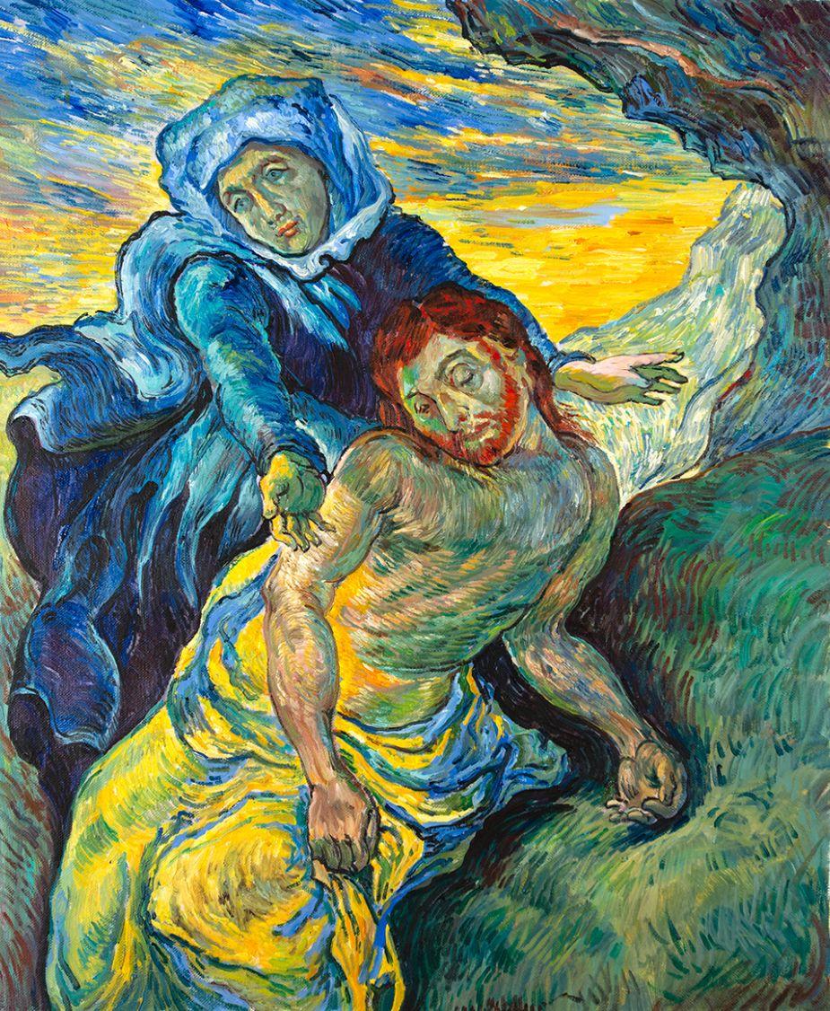 Was Vincent van Gogh inspired by Eugène Delacroix?