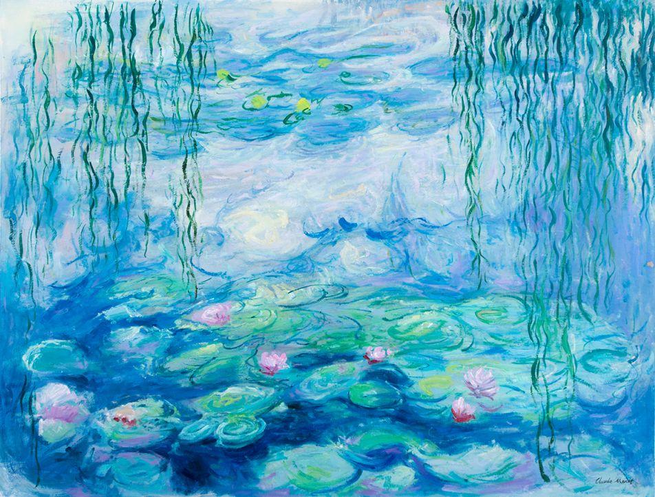 Water Lilies Marmottan, Monet reproduction