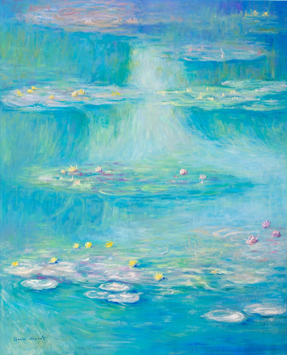 Water-Lilies Monet reproduction