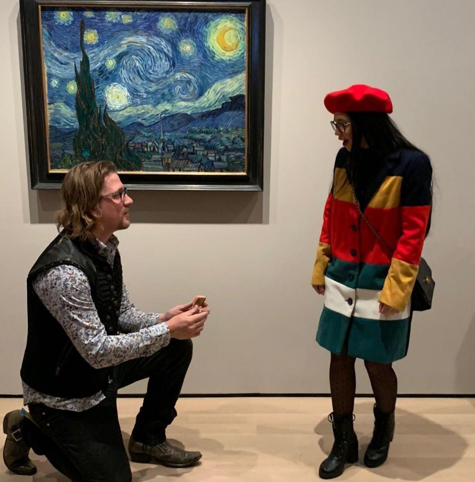 What does Starry Night mean to Briggit Parilli