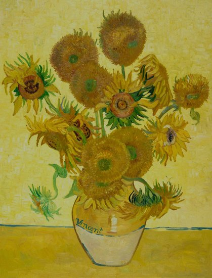 Which of Van Gogh's sunflowers is the fourth version?