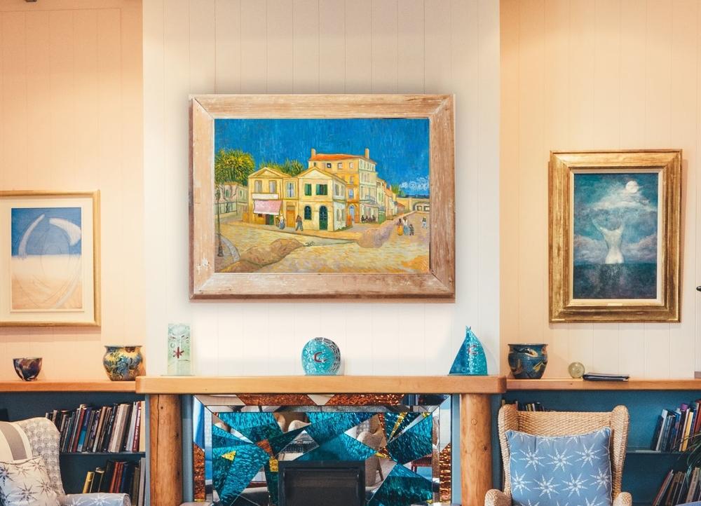 Het Gele Huis Interieur