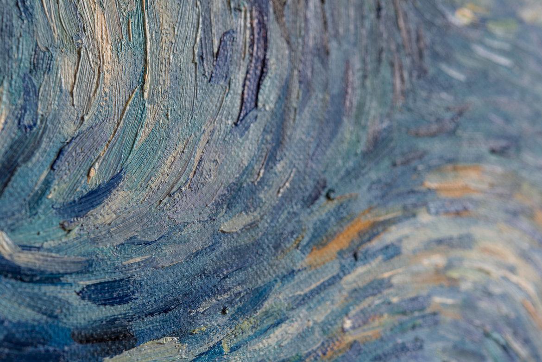 Van Gogh reproduction detail Starry Night