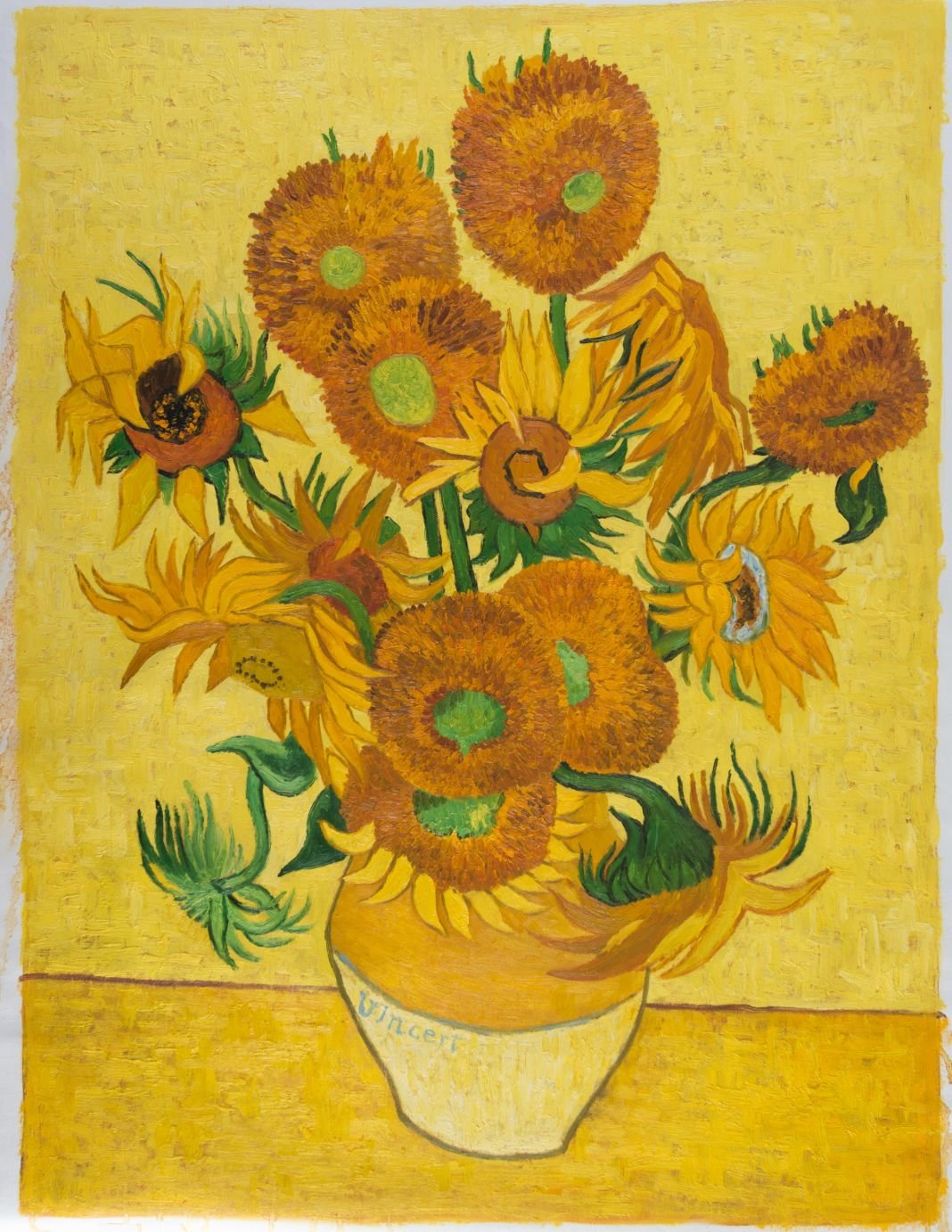 Vase with fifteen sunflowers reproduction van gogh studio van gogh reproduction vase with fifteen sunflowers reviewsmspy