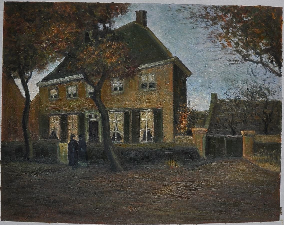 Van Gogh reproduction The Vicarage at Nuenen