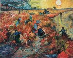 The Red Vineyard Van Gogh reproduction