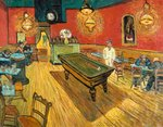 The Night Cafe in the Place Lamartine Van Gogh reproduction