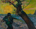 The Sower Van Gogh Museum Van Gogh reproduction