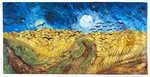 Wheat Field with Crows Van Gogh reproduction
