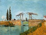 The Langlois Bridge at Arles in Wallraf-Richartz Van Gogh reproduction