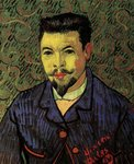 Portrait of Doctor Felix Rey Van Gogh reproduction