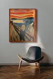 The Scream Munch reproduction framed