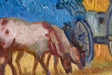 Noon Rest from Work Van Gogh Replica detail