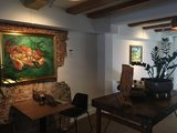 Interior with Crab on Its Back Oil Paiting Replica framed