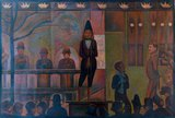 Circus Sideshow Georges Seurat reproduction