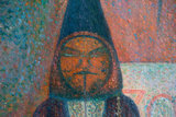 detail Circus Sideshow Georges Seurat reproduction