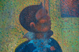 detail Circus Sideshow Georges Seurat replica
