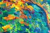 The Green Vineyard Van Gogh replica detail