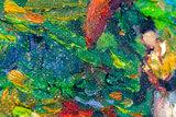 The Green Vineyard Van Gogh reproduction detail