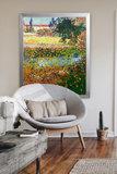 Flowering Garden Van Gogh in interior