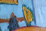 van gogh bedroom detail