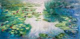 Water Lilies Honolulu Monet reproduction