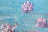 detail Water-Lilies Monet reproduction