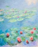 Water Lilies San Francisco, Monet reproduction