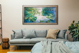 Water Lilies Honolulu Monet replica framed