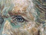 detail Self Portrait Vincent Van Gogh reproduction